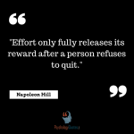 """""""Effort only fully releases its reward sports psychology"""